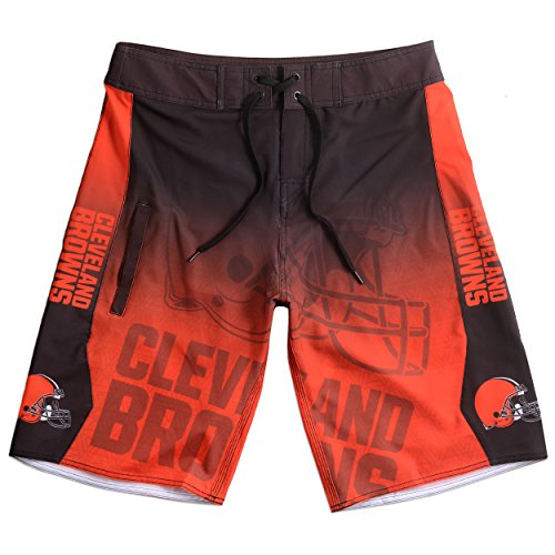 Cleveland Browns Gradient Board Short Double Extra Large 38 ()