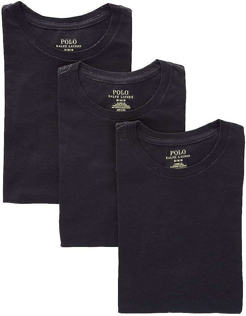 Polo Ralph Lauren Men's Classic Fit w/Wicking 3-Pack Crews