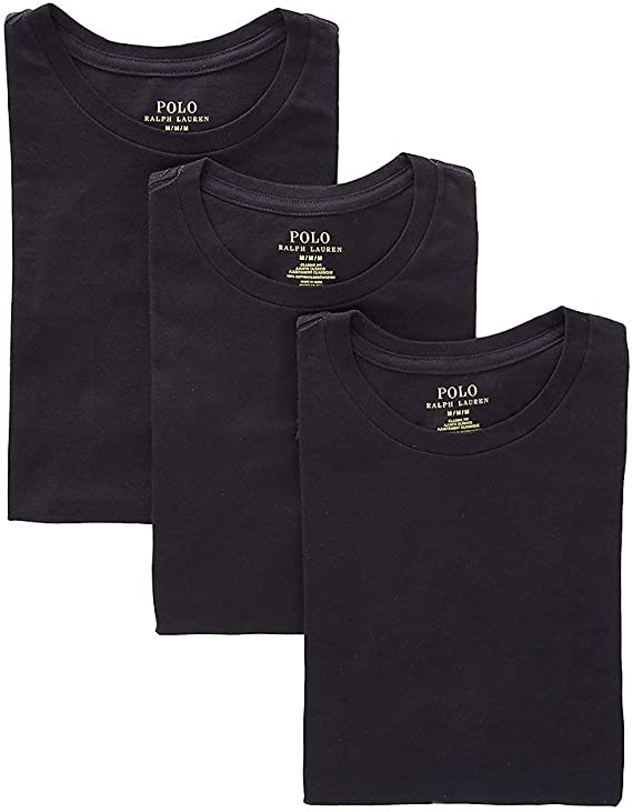 Pack of 2 Polo Ralph Lauren Mens Classic T-Shirt