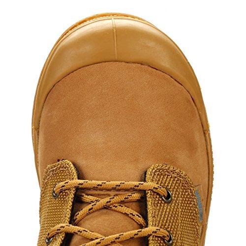 Palladium Kinder Amber Gold/Mid Gum Pampa Hi Cuff WPN Stiefel