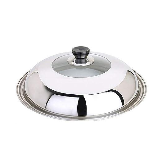 Tapa para olla de acero inoxidable, apta para lavavajillas/horno ...
