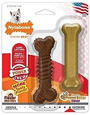 Nylabone Power Chew Dura Chew Combo Pack, Flavored Dog Chew Toys