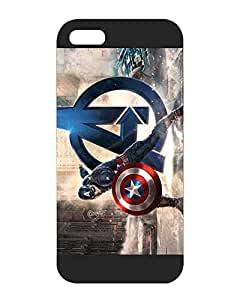 Cool Design for Iphone 5 5s Funda Case - The Avengers - Marvel Comics Back Funda Case Cover for Iphone 5 / 5s Dual Layer