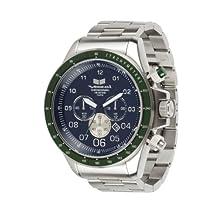 Vestal Men's ZR3026 ZR-3 Silver Green Black Watch