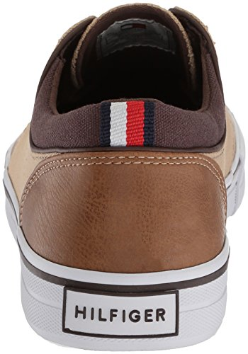 Tommy Hilfiger Mens Tessuto Rosso Naturale Medio Oxford