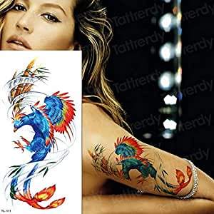 tatuaje manga patrón tatuaje pegatina tatuaje para mujer ángel ala ...
