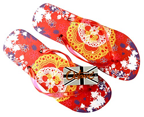 Design Beach Lace amp; Collection Orange Wear Styles Flops Summer Colours Flip OCTAVE Various Ladies 14Bn7