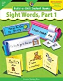 Build-a-Skill Instant Books Sight Words, Part 1, Rozanne Lanczak Williams, 1591984149