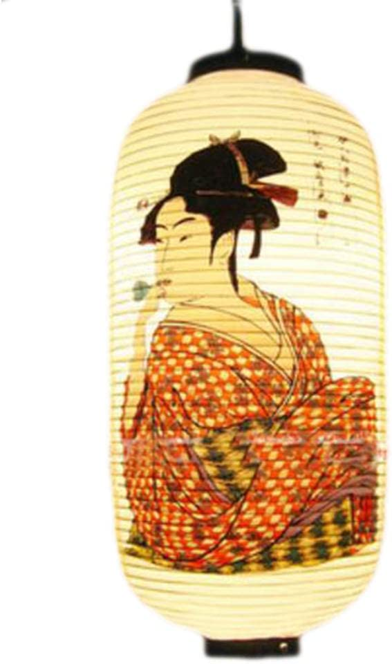 Wukong Paradise H/ängende Laternen-Sushi-PVC-Lampenschirm-Restaurant-Dekorationen der japanischen Art-A38