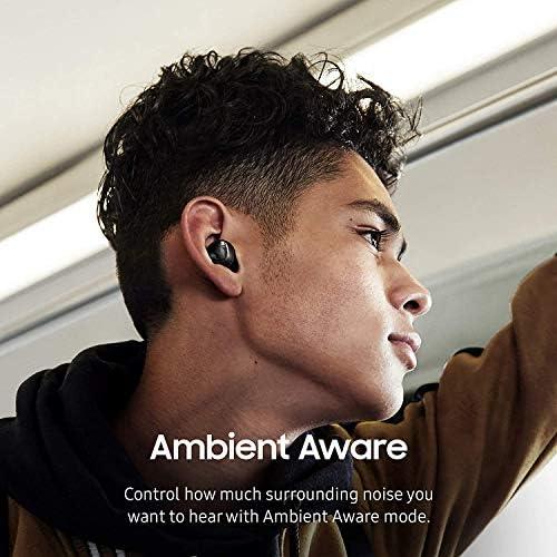 Samsung Galaxy Buds True Wireless Earbuds (Wireless Charging Case Included) - Bulk Packaging - Black
