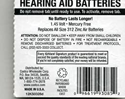Amazon.com: Rayovac Extra Advanced, size 312 Hearing Aid