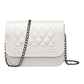 GSPStyle Women Fashion Handbag Shoulder Bag Chain Evening Party Cross Body Bags Color Beige
