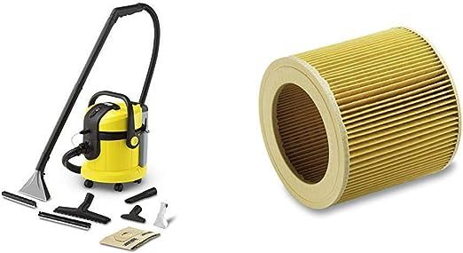 Karcher SE 4002 - Lava-aspiradora con cable, 1400 W y 4+4 litros ...