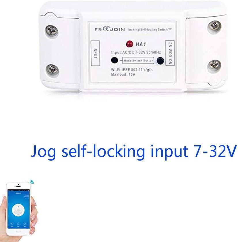 Módulo de relé inalámbrico de 1 canal para automatización de casa inteligente de 7 V 12 V 24 V 32 V 10 A
