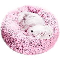 PETCUTE Cama para Gatos Grandes Cama para Perros pequeños medianos cojín de Gato Lavable Suaves Cama para Mascotas cálida