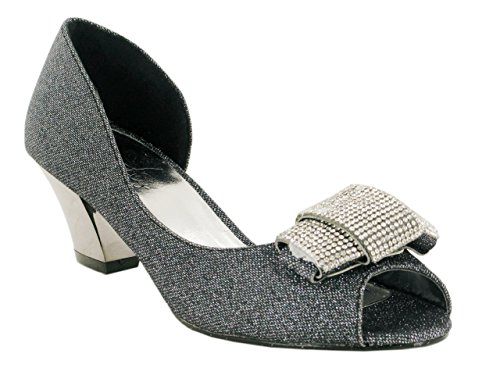 Strictly - Sandalias de vestir de Material Sintético para mujer negro
