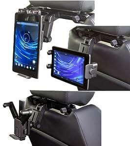 Soporte Coche en Reposacabezas para tablet PC/ Soporte Negro con mango extensible Para tablet Apple iPad & iPad 2 16GB 32GB 64GB