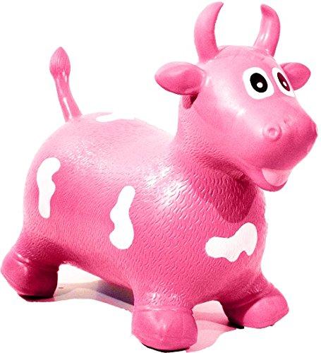 HAPPY GIAMPY hg206 - Vaca Hinchable Montar para Niños, Color ...