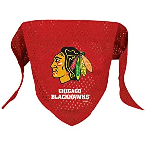 NHL Chicago Blackhawks Pet Bandana, Team Color, Small