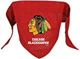 NHL Chicago Blackhawks Pet Bandana, Team Color, Large