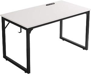 Home Office Desk, Modern Industrial Simple Style Computer Desk, Workstation, Sturdy Writing Desk, Flrrtenv(39