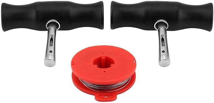 Windschutzscheibenwerkzeuge Universal Car Windschutzscheibe Removal Tools Kit Windschutzscheibe Fensterglas Schneidedraht W Griffe Auto
