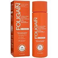 Foligain Shampoo Ricrescita Uomo   Trioxidil 2%   Combatte la Caduta dei Capelli e Rinforza il Cuoio Capelluto   Senza Parabeni e Solfati   Confezione Da 236ml