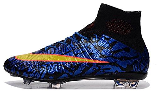 &Nike&-Soccer Men's Mercurial Superfly FG Soccer Cleats - Kids Nike Mercurial Carbon