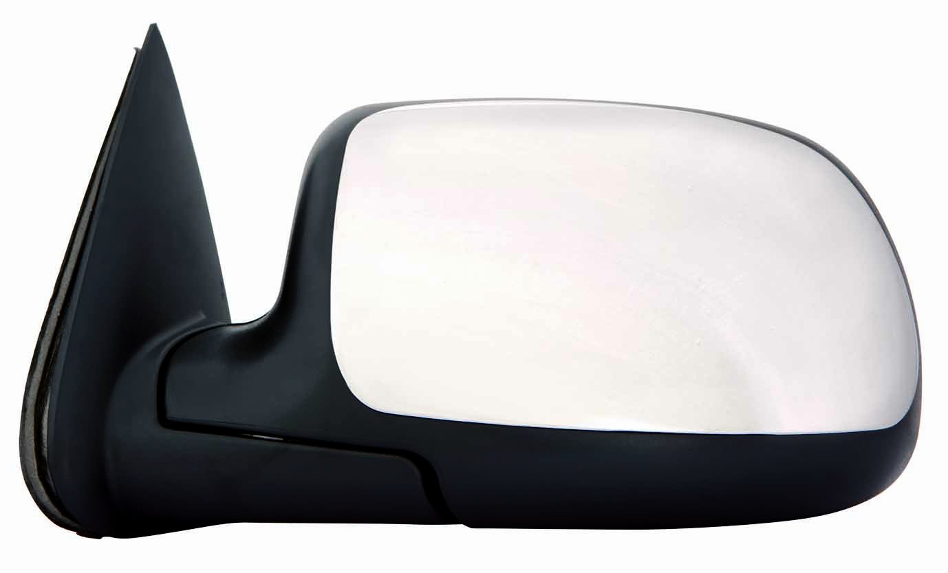 Depo 335-5401R3ECH Chrome Passenger Side Power Heated Mirror