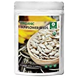 Naturevibe Botanicals Organic Sunflower Seeds (2lbs) |Gluten-Free & Non-GMO (32 Ounces)