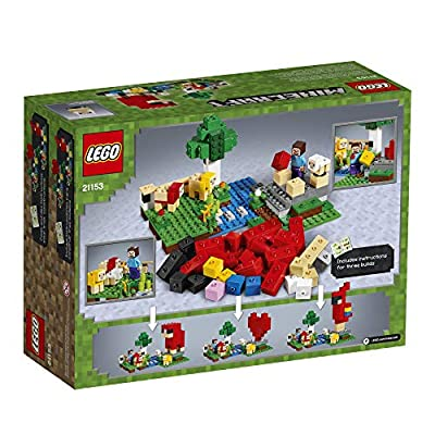 LEGO Minecraft The Wool Farm 21153 Building Kit (260 Pieces): Toys & Games