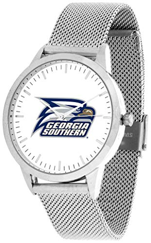 Georgia Southern Eagles - Mesh Statement Watch - Silver Band ()