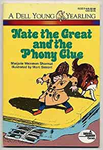 Nate the great and the phony clue book report