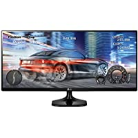 LG 29UM58-P 21:9 UltraWide Full HD IPS Monitor - 29' - Black