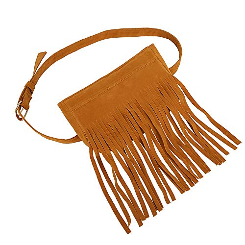 Messenger Bag Waist Tassels Messenger Tassel Brown Hippie Bag Clearance Hobo Chest Bag Black Women Women's Handbag Bags Iuhan Suede Women Fringe Cq5EEap