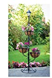 New STOCK Solar Powered 3 Tier Flower Stylish Planter