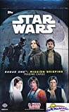 #6: 2016 Topps Star Wars Rogue One Mission Briefing Factory Sealed HOBBY Box with 24 Packs! Includes TWO(2) HITS ! Look for Autographs From actors for Han Solo, Darth Maul, Luke Skywalker & Many More!