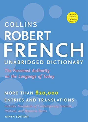 Collins Robert French Unabridged Dictionary, 9th Edition (Collins Language) -
