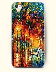 iPhone 5/5S Case, SevenArc Phone Cover Series for Apple iPhone 5 5S Case (DOESN'T FIT iPhone 5C)-- Ink Painting-...