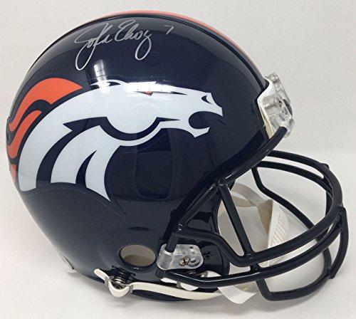 JOHN ELWAY Autographed Denver Broncos Proline Authentic Helmet STEINER