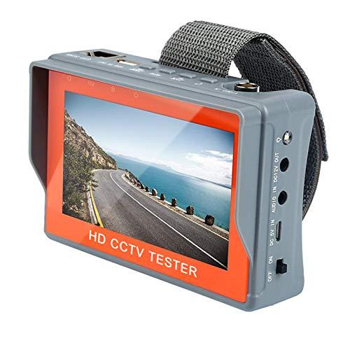 [Upgrade Version] Electop Wrist CCTV Tester, 5 Inch 4 in 1 HD 1080P Portable Camera Tester AHD TVI CVI CVBS Tester VGA…