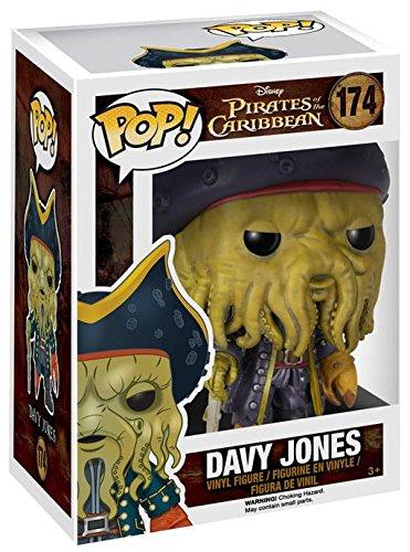 Funko Pirates of the Caribbean Davy Jones Pop Vinyl Figure, Action Movies by