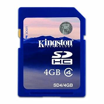 Nikon D3000 4 GB tarjeta de Memoria SD SDHC Kingston Clase 4 ...