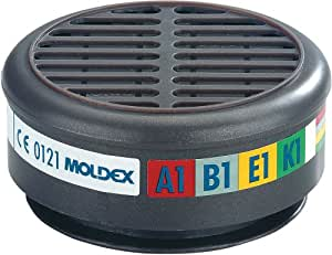 Moldex - Filtro para mascarilla 8000 con respirador -