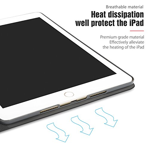AUAUA iPad Mini 4 Case, iPad Mini 4 PU Leather Case with Smart Cover Auto Sleep/Wake +Screen Protector For Apple iPad Mini 4, 7.9 inch Apple Tablet (Mini 4, Brown) Photo #8