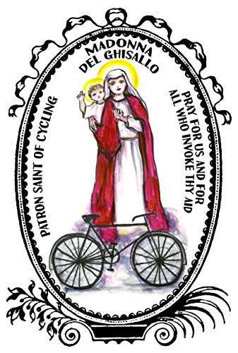 Postcard Madonna - Madonna Del Ghisallo Patron of Cycling 4