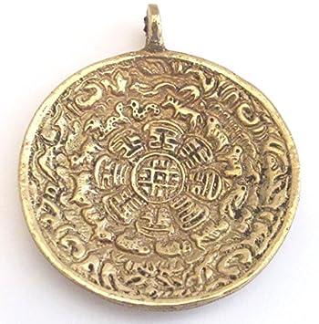 Calendario Tibetano.Tibetano Om Con Calendario Calendario Rueda Cp051 Colgante