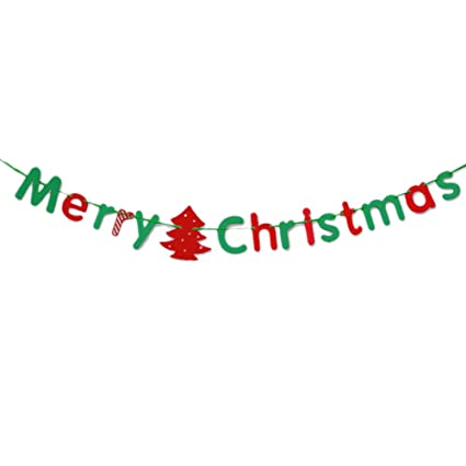adsro merry christmas letter banner decorative double sided thick card paper cut and used for - Christmas Letter Decorations