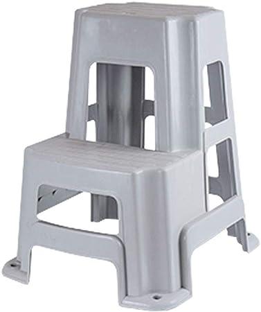 Taburetes escalera Taburete de Paso de plástico Escalera de Paso de Servicio Pesado Paso de Inicio Ascendedor de Taburete Antideslizante Pisada Carga máxima 150 kg (Size : 60.5cm): Amazon.es: Hogar