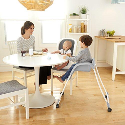 51QtPbd1EVL - Ingenuity SmartClean Trio Elite 3-in-1 High Chair - Slate - High Chair, Toddler Chair, & Booster
